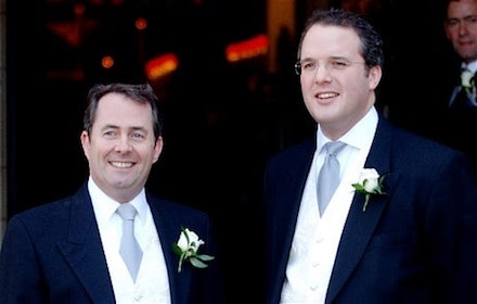 Liam Fox and his friend Adam Werritty