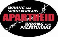Apartheid - wrong for South Africans and wrong for Palestinians