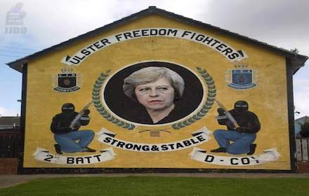 Theresa May and the Ulster terrorists