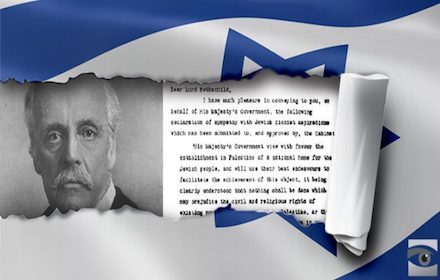 UK must apologise for Balfour Declaration