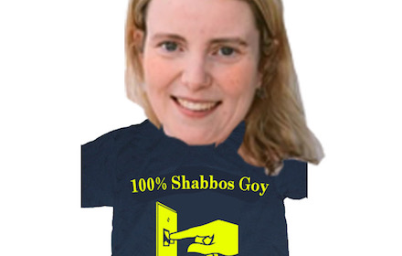 Israel stooge Rachel Eden