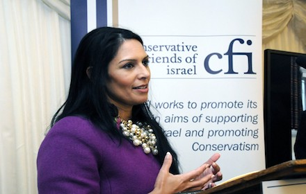 Priti Patel and Conservative Friends of Israel