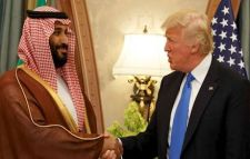 Saudi Crown Prince Muhammad and President Trump