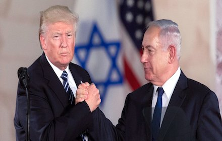 Trump in solidarity with Netanyahu