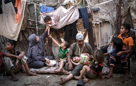 Gaza poverty