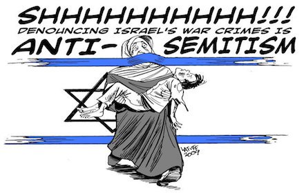 "Israel's ""anti-Semitism"" weapon"