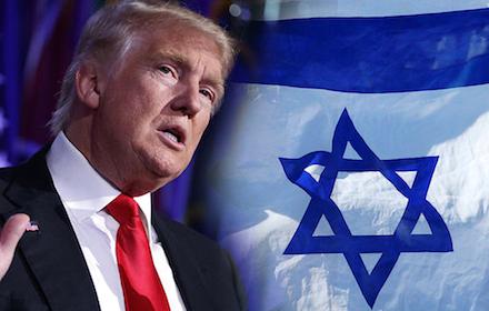 Israel servant Trump