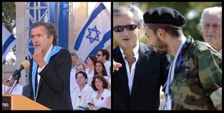 Bernard-Henri-Lévy with Libyan terrorists