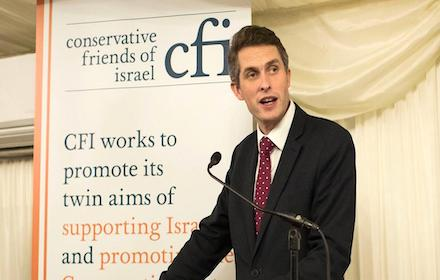 Israel pimp Gavin Williamson