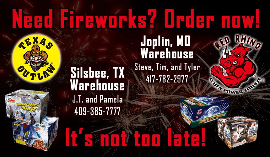 Wholesale Fireworks Texas