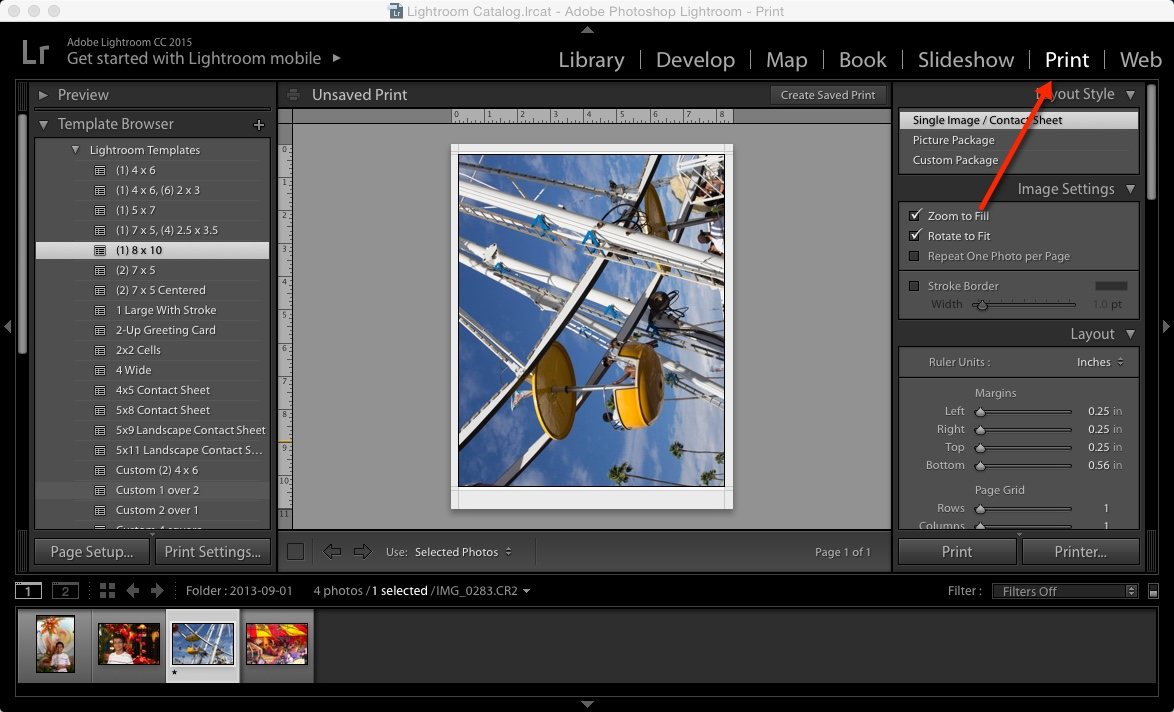 How To Use Icc Printer Color Profiles In Lightroom Hp