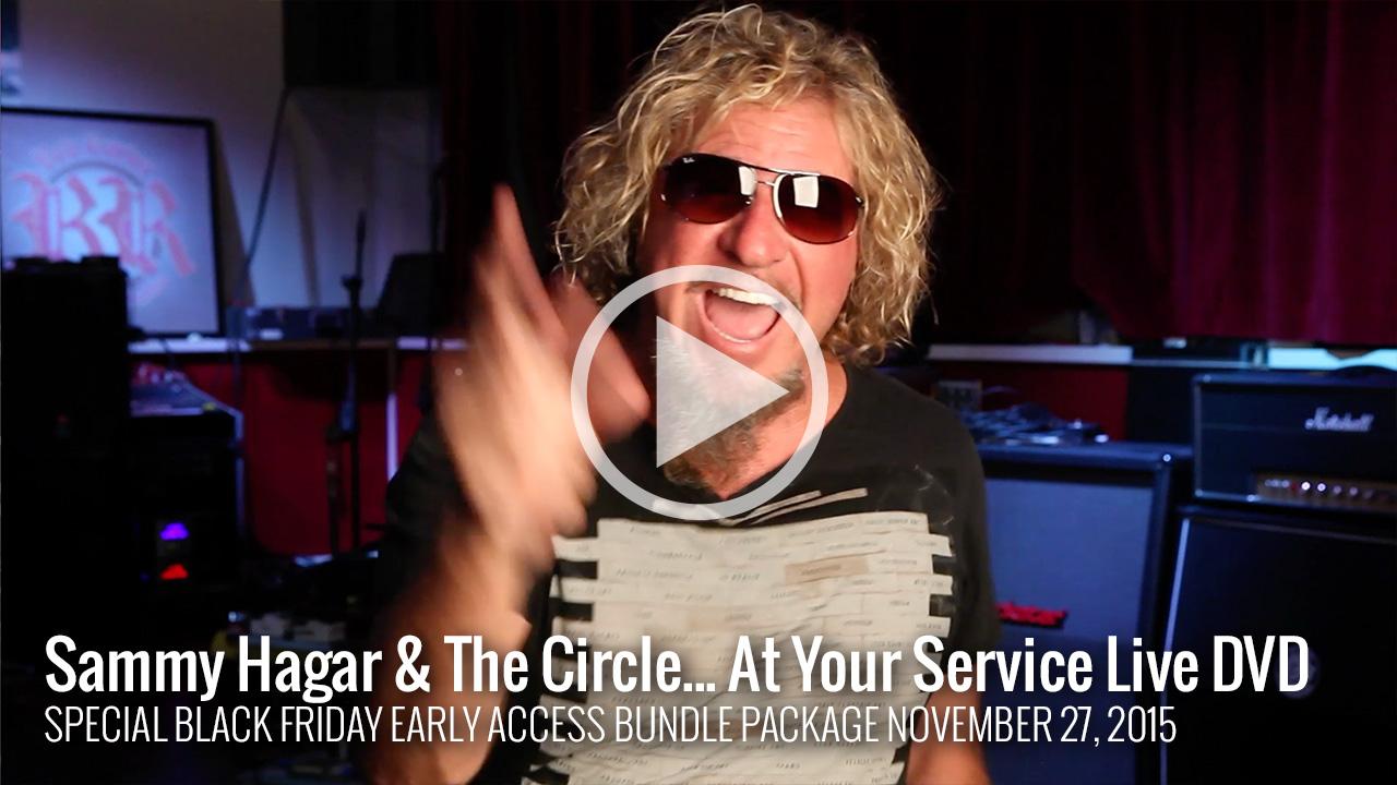 At Your Service  Sammy Hagar The Red Rocker