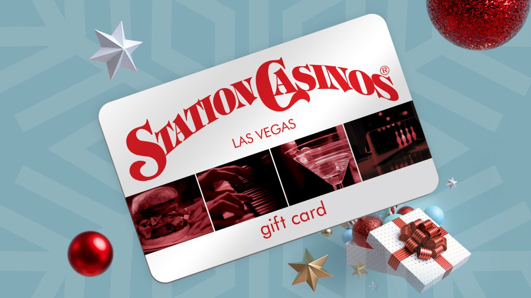 It's Holiday Time! Station Casinos Gift Cards