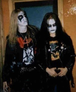Dead (left) and Euronymous (Right)