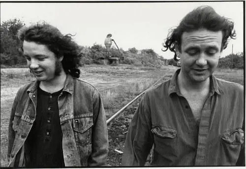 Houser and Bell together circa 1992 (Photo courtesy of panicstream.com)