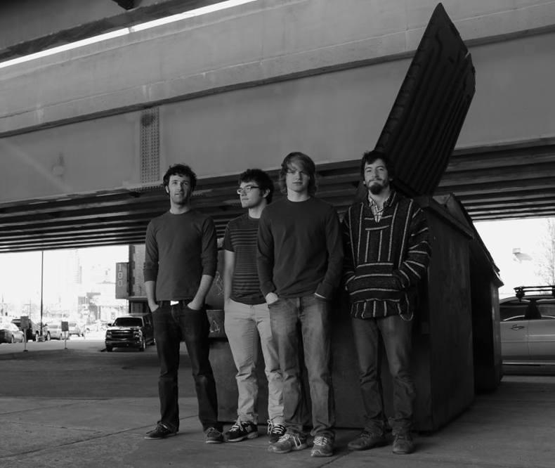 From left to right: Tom Carr, John Johnson, Mike Pierce, Josh Kirby (Photo courtesy Long Term Access)