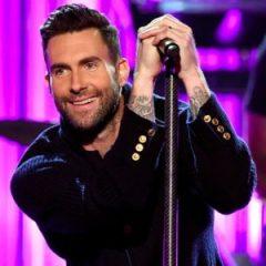 Adam Levine of Maroon 5 (via Popsugar)