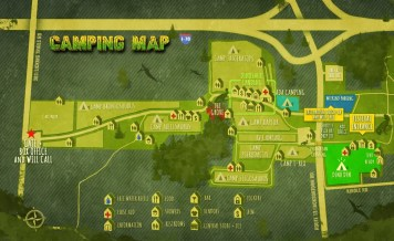 Lost Lands Camping Map