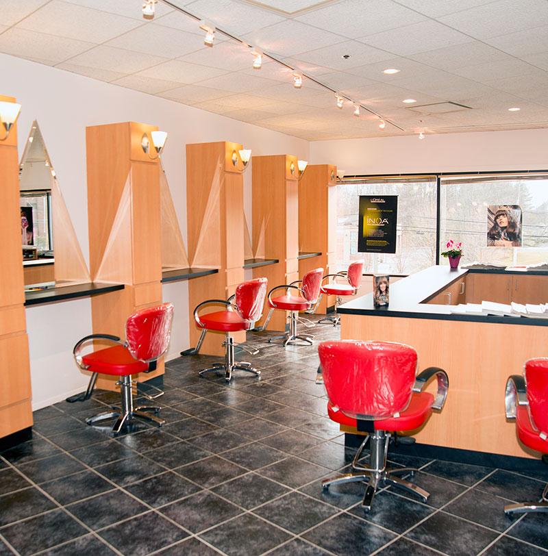 Red Salon Amp Color Bar Westports Premier Color Bar Salon