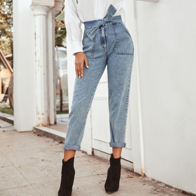 TIE A BOW jeans