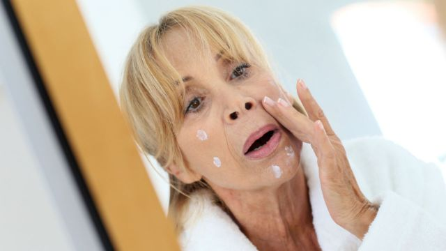 menopausal blemishes