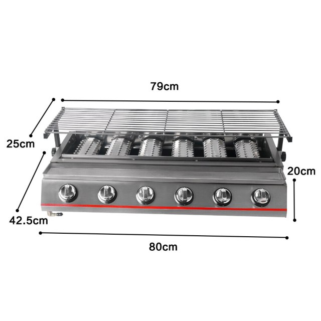 size of grill