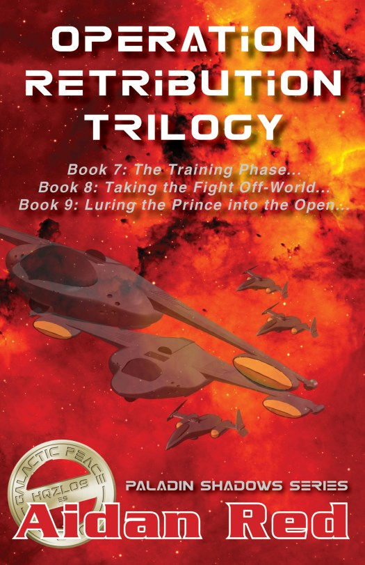 Book Cover: Operation Retribution Trilogy