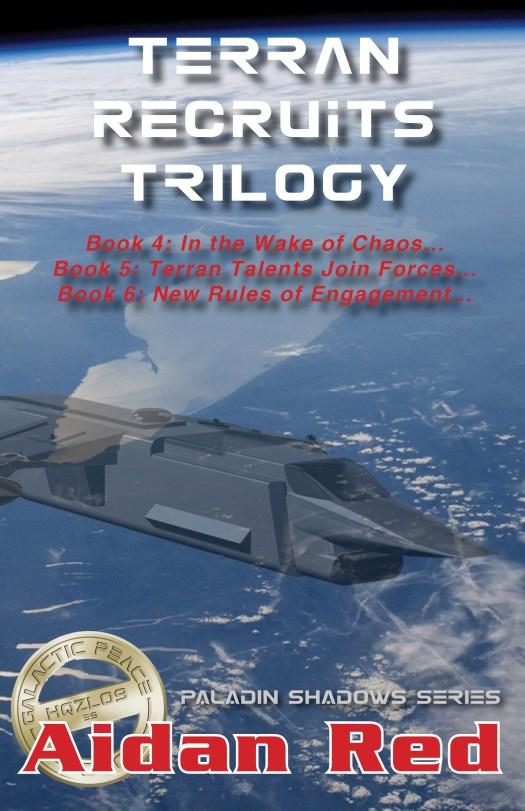 Book Cover: Terran Recruits Trilogy