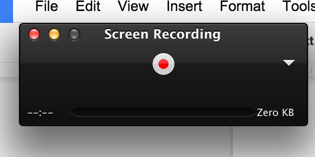 How To Record Screen In Mac