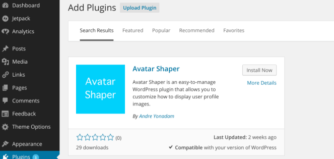 Avatar Shaper Plugin Installation Guide