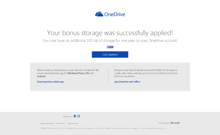 Claim Your 100GB Of Free Cloud Storage In OneDrive Right Now – RedSome