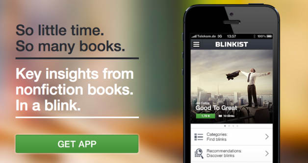 Blinkist: An App For Life Long Learners