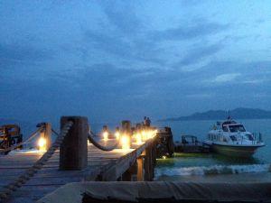 Abendliches Vietnam