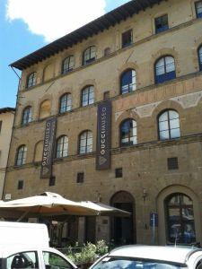 Das Museum befindet sich ganz in der Nähe der Uffizien