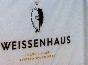 Überall zu entdecken: Das Weissenhaus-Logo