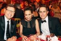Rolf Sigmund (L'Oréal Luxusprodukte), Jeannette Chang (Hearst Magazines International), Brian Watts (BMW M). Foto: Christian Rudnik
