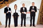 Stefan Raab (Bauer Premium), Monika Fendt (Bauer Premium), Andreas Schoo (Bauer Media Group), Jörg Hausendorf. Foto: Christian Rudnik
