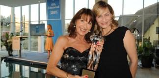 Spa Award: Isolde Heinz (links) und Gesine Cukrowski. Foto: Busche Verlag