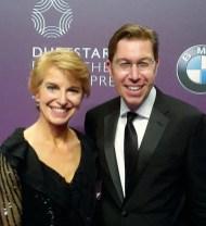 Wiedersehen bei der Duftstars-Gala. Gleich 2 Düfte von Ulrich Lang waren 2015 nominiert. Links Susanne Stoll, INSIDE beauty.