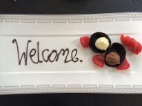 Nette Ideen im Zimmer: eine süße Begrüßung ...