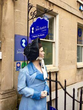 ... dem Museum von Jane Austen ...