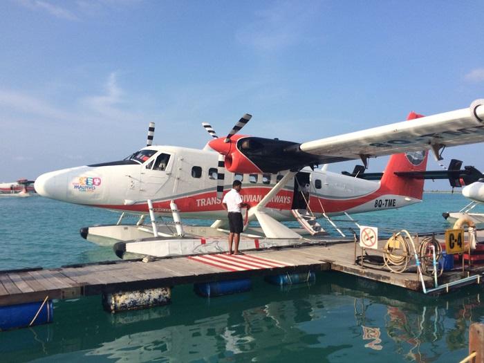 Von Male ist das Lux South Ari Atoll in 25 Minuten mit dem Wasserflugzeug zu erreichen.