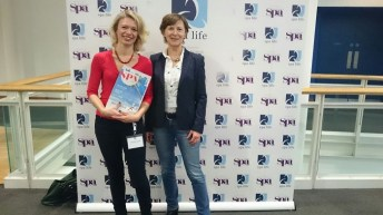 Muriel Allenbach und Dorit Schambach von redspa media.