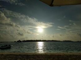 Auch von der Beach Villa aus genießt man den Blick aufs Meer