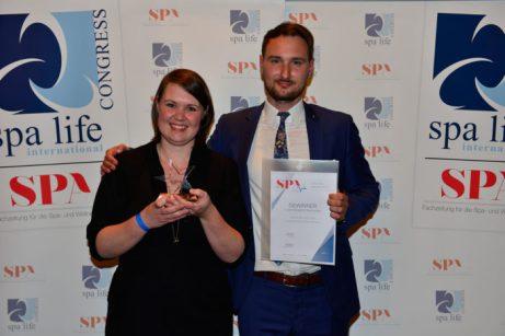 Katharina und Christopher Klump vom Landhotel Voshövel, Gewinner in der Kategorie Newcomer