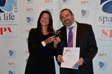 Markus und Claudia Widauer vom Holzhotel Forsthofalm, Gewinner in der Kategorie Green Spa
