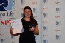 Martina Hirn vom Alpenresort Schwarz, Gewinner in der Kategorie Spa Konzept