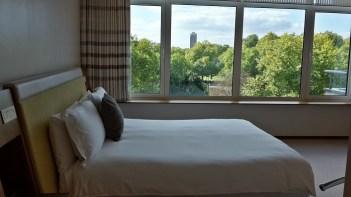 Traumhafte Sicht auf den Hyde Park hat man von den Zimmern des Como The Metropolitan