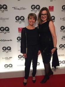 Auch Birgit Scheuermann (Coty Luxury ) u Susanne Stoll feierten mit.