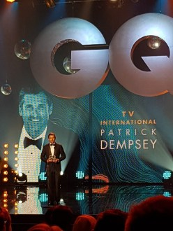 "Patrick Dempsey erhielt den Preis in der Kategorie ""TV International"""